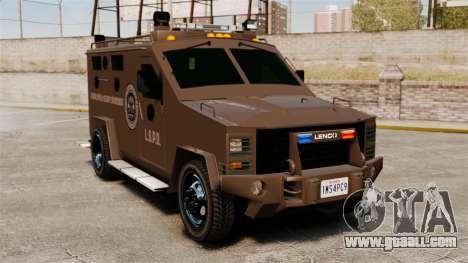 Lenco Bearcat Armored LSPD GTA V for GTA 4