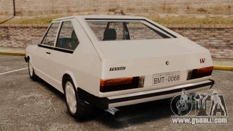 Volkswagen Passat TS 1981 for GTA 4 back left view