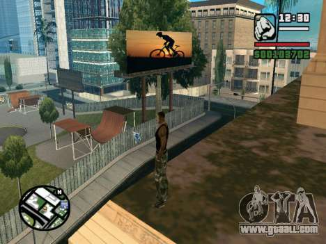 New BMX Park v1.0 for GTA San Andreas third screenshot