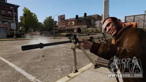 Mk17 SCAR-H for GTA 4 forth screenshot