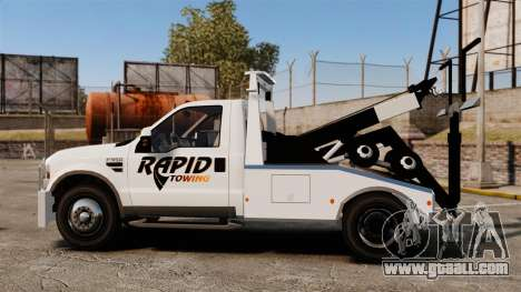 Ford F-550 Towtruck Rapid Towing [ELS] for GTA 4 left view