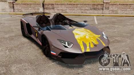 Lamborghini Aventador J Big Lambo for GTA 4