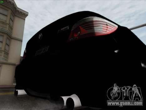 BMW M5 Hamann for GTA San Andreas bottom view
