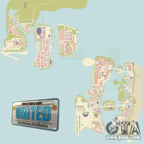 GTA United 1.2.0.1 for GTA San Andreas second screenshot