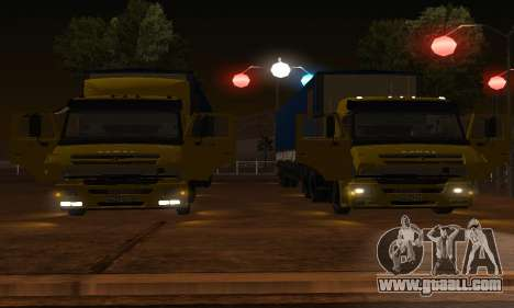 KAMAZ 65116 for GTA San Andreas side view