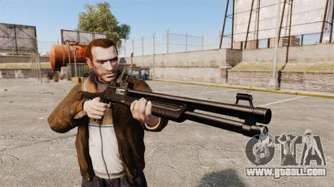 Tactical shotgun Fabarm SDASS Pro Forces v3 for GTA 4 third screenshot