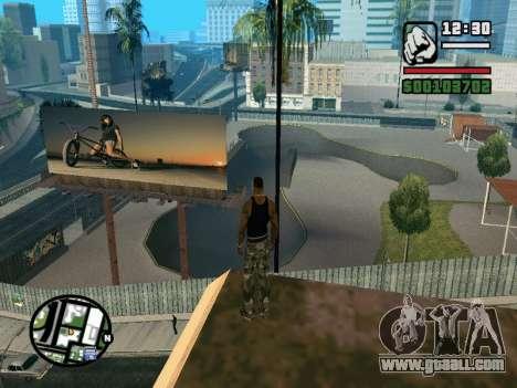 New BMX Park v1.0 for GTA San Andreas seventh screenshot