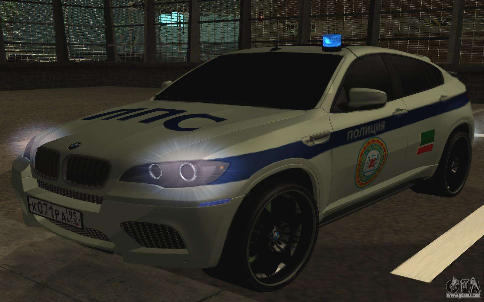 Bmw X 6 M With Flashing Lights Ppp For Gta San Andreas