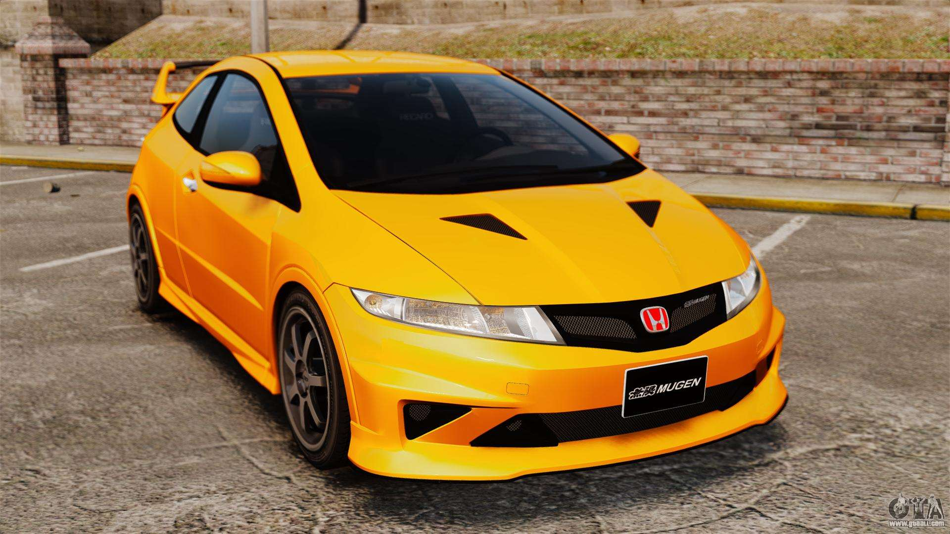 honda civic type r fn2 for gta 4. Black Bedroom Furniture Sets. Home Design Ideas