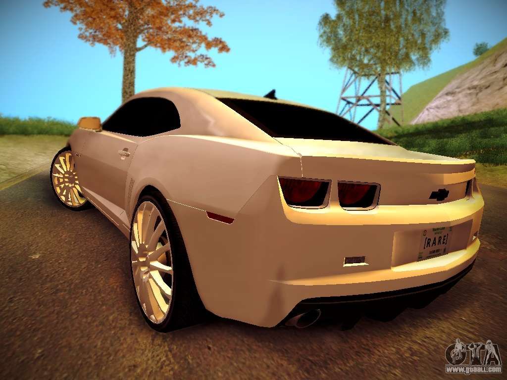 chevrolet camaro ss tuning for gta san andreas. Black Bedroom Furniture Sets. Home Design Ideas
