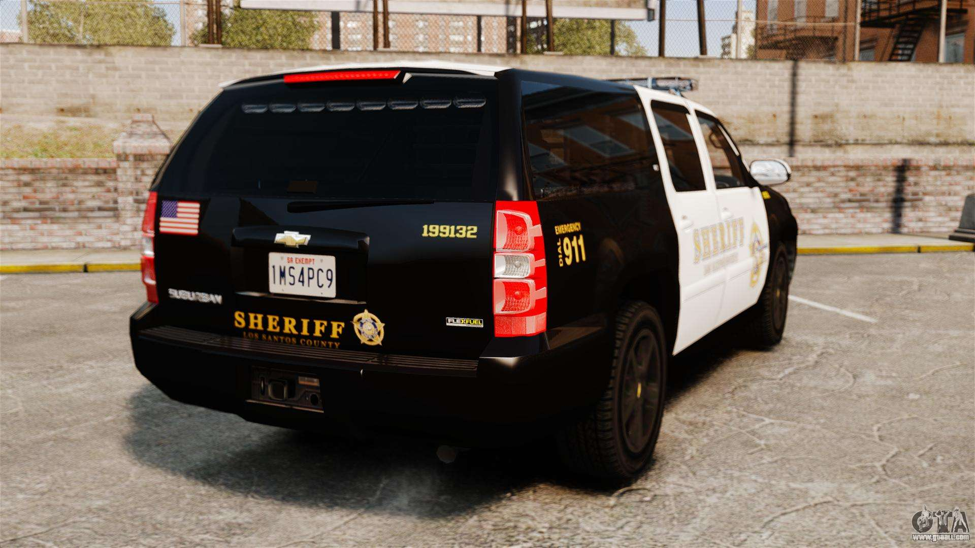 Chevrolet Suburban Gta V Blaine County Sheriff For Gta 4
