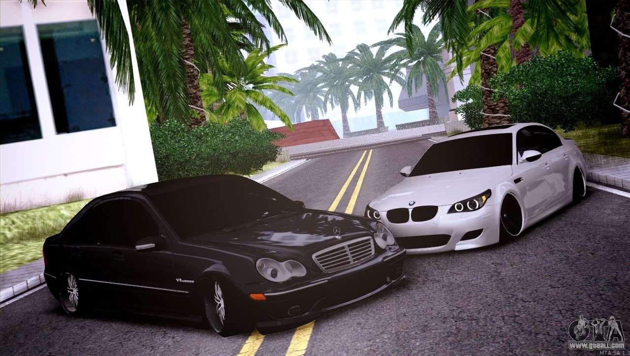 Mercedes Benz C32 Amg For Gta San Andreas
