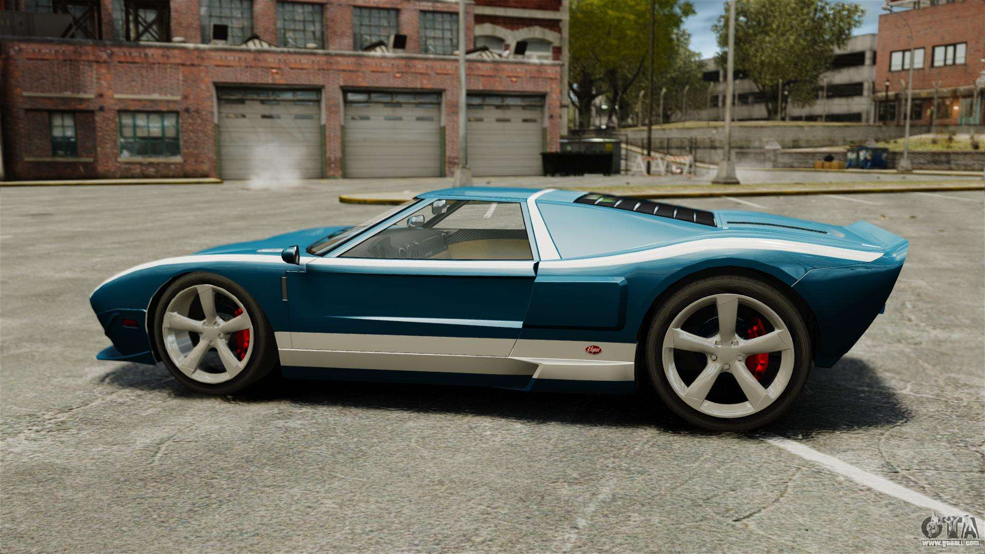 New Bullet Gt For Gta  Left View