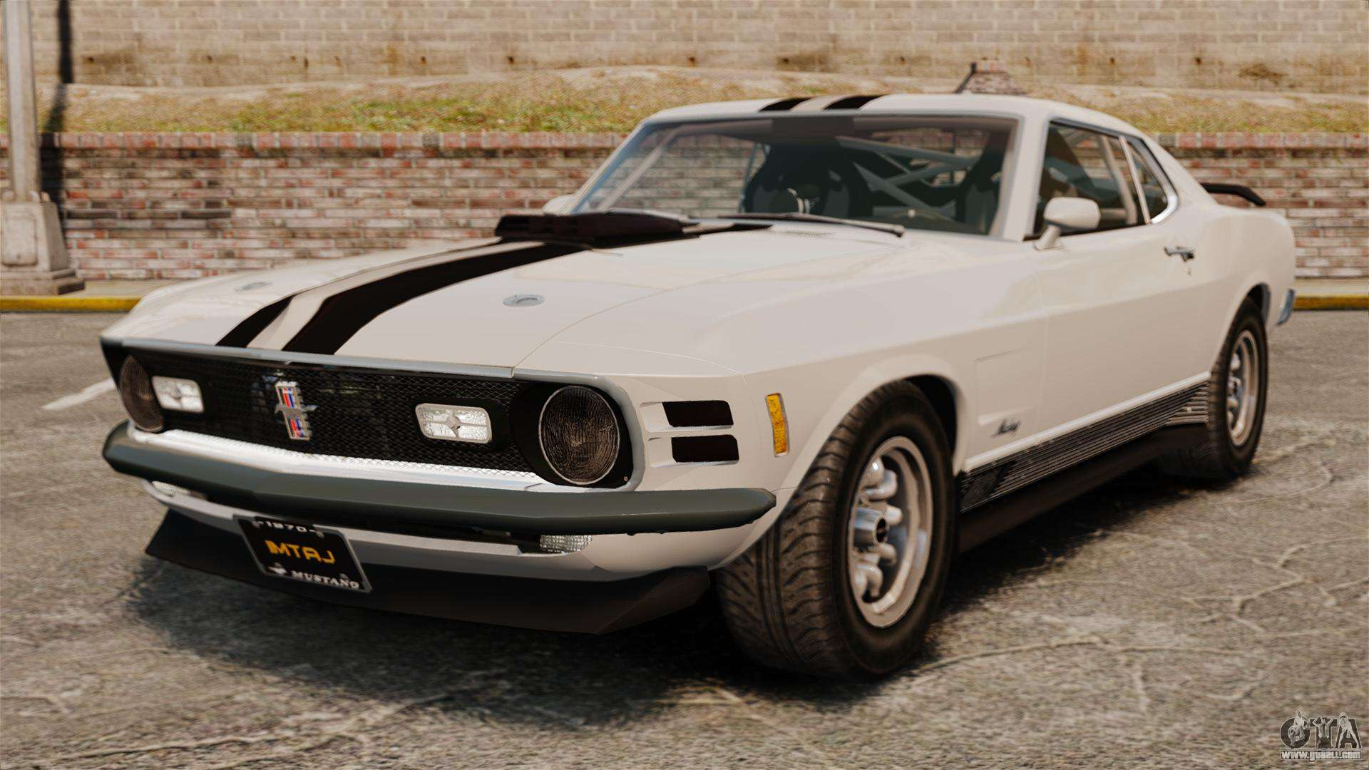 ford mustang mach 1 twister special for gta 4. Black Bedroom Furniture Sets. Home Design Ideas