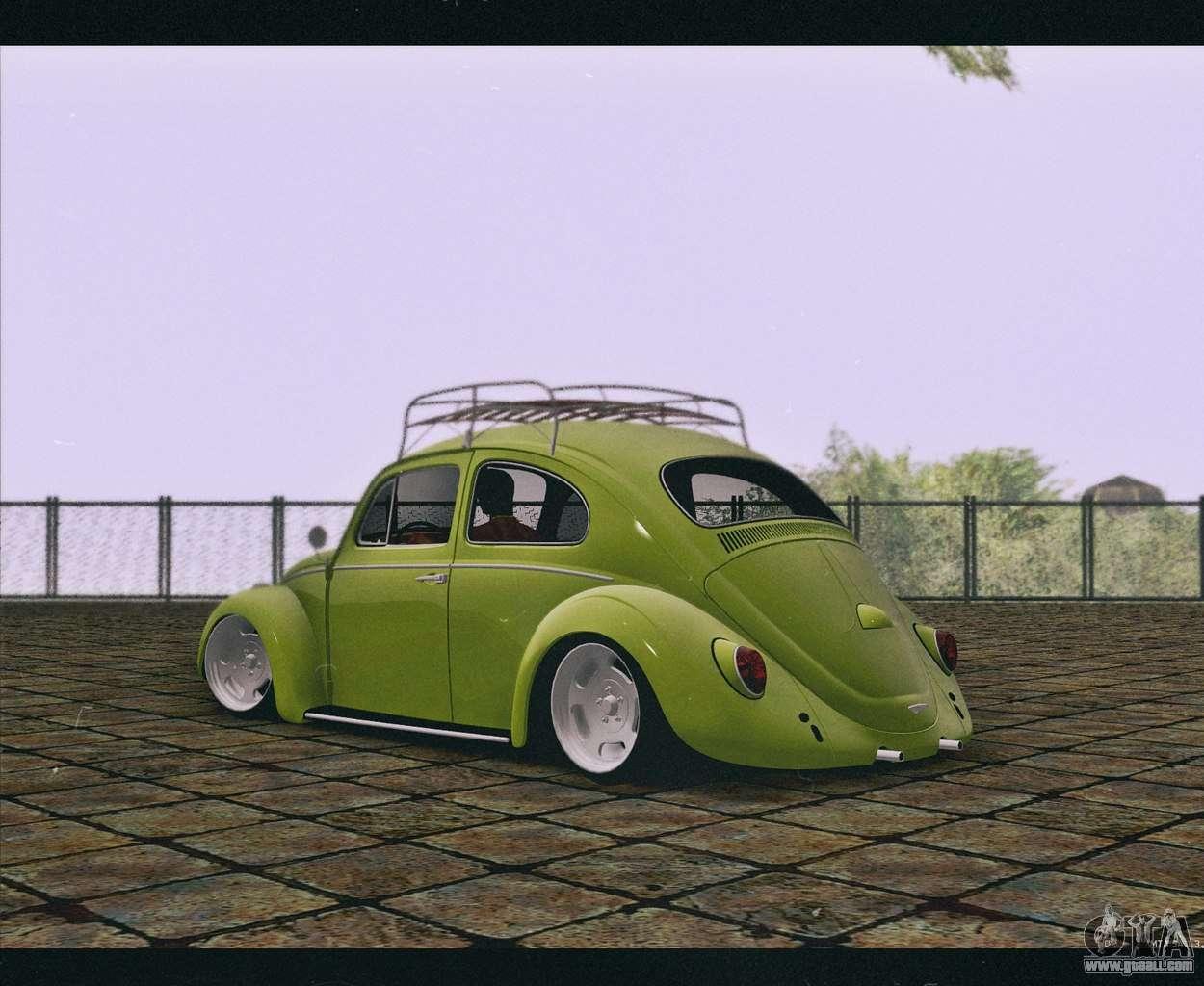 volkswagen beetle   gta san andreas