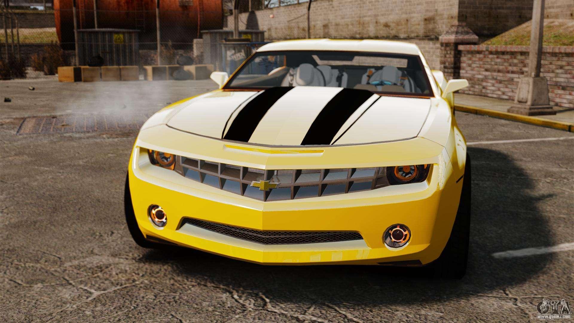 Chevrolet Camaro Bumblebee For Gta 4