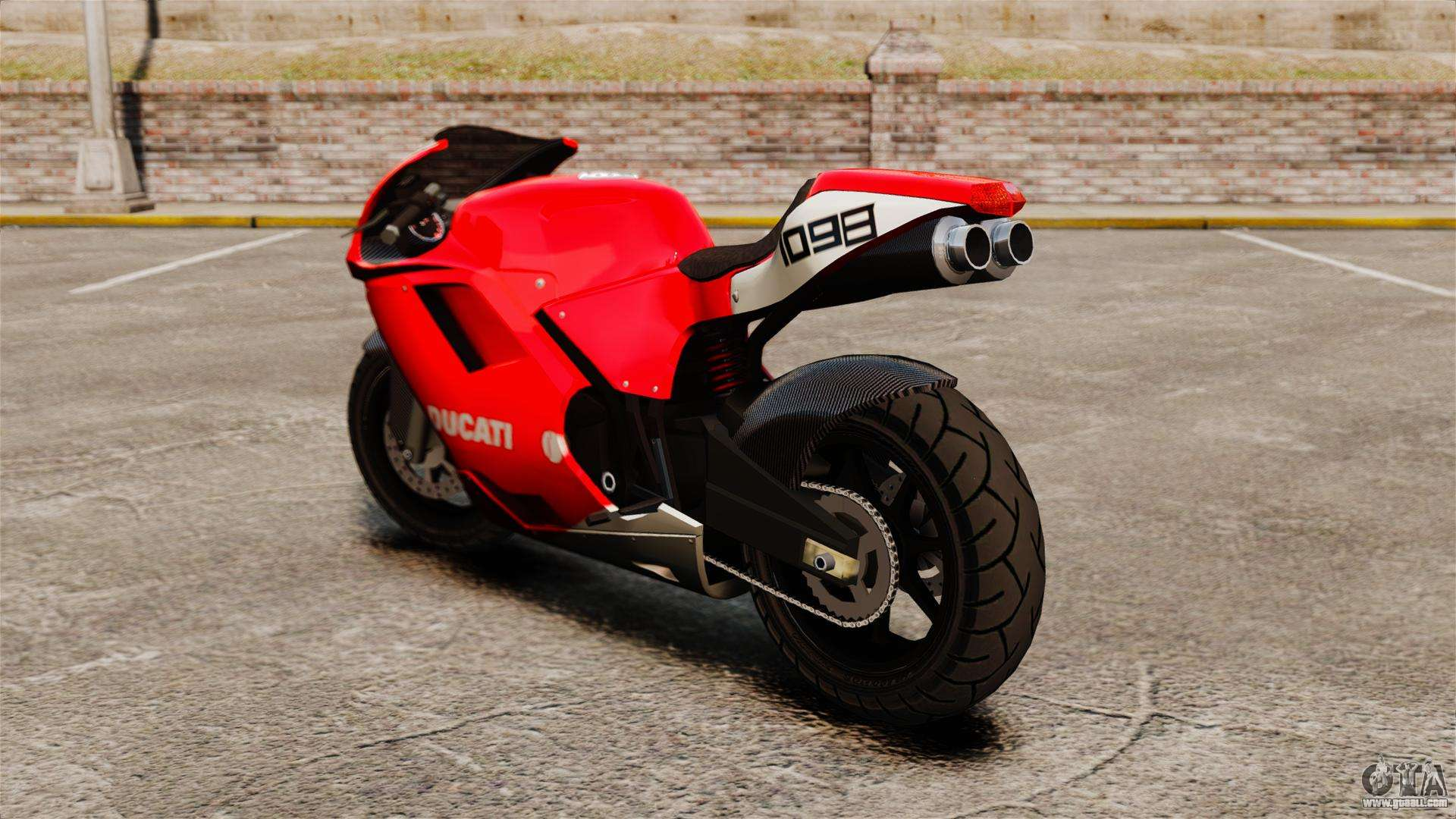 ducati 1098 for gta 4. Black Bedroom Furniture Sets. Home Design Ideas