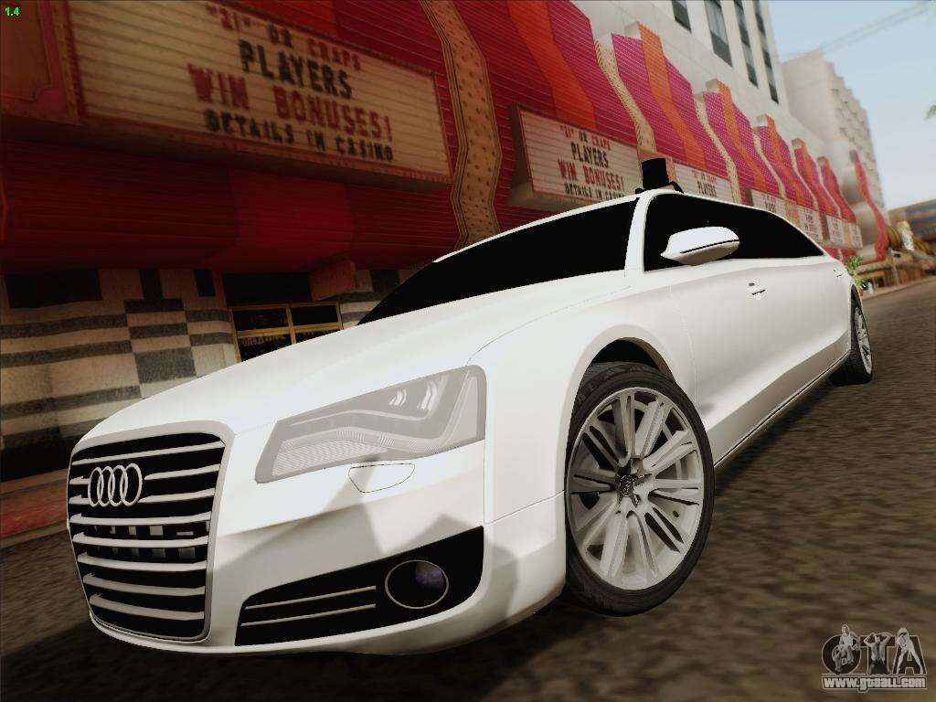 Audi A8 Limousine For Gta San Andreas