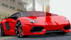 Lamborghini Aventador LP760-2 2013 for GTA San Andreas