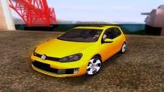 Volkswagen Golf 6 GTI for GTA San Andreas