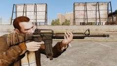 An American assault rifle M16A4 for GTA 4