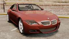 BMW M6 coupe for GTA 4