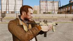 MP9 submachine gun tactical v4 for GTA 4