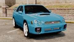 Subaru Impreza седан for GTA 4