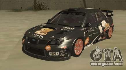 Subaru Impreza WRC Itasha for GTA San Andreas
