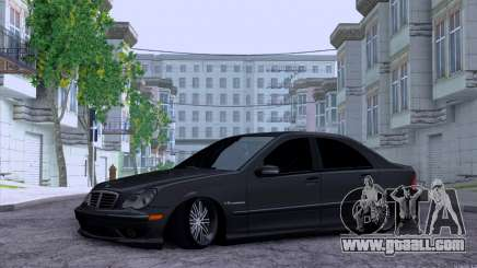 Mercedes-Benz C32 AMG for GTA San Andreas