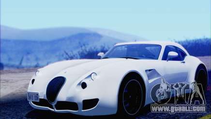 Wiesmann GT MF5 2010 for GTA San Andreas