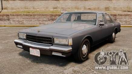 Chevrolet Caprice 1989 for GTA 4