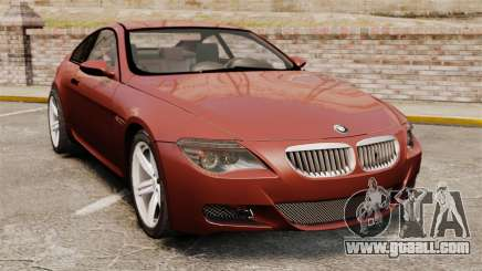 BMW M6 for GTA 4