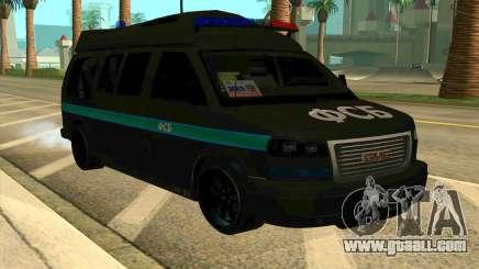 GMC Savana AWD FSB for GTA San Andreas