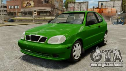 Daewoo Lanos FL 2001 US for GTA 4