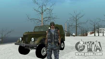 Commando for GTA San Andreas