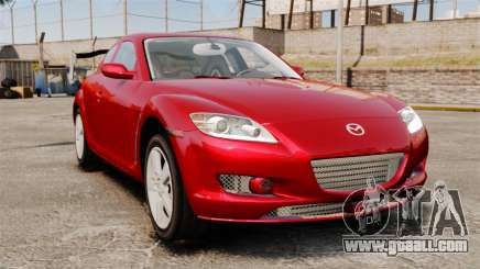 Mazda RX-8 Light Tuning for GTA 4