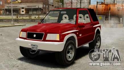 Suzuki Vitara JLX for GTA 4