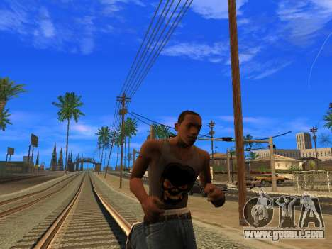 New Mike CJ for GTA San Andreas forth screenshot
