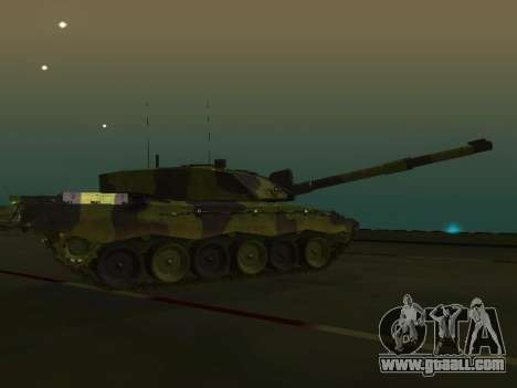 Challenger 2 for GTA San Andreas left view