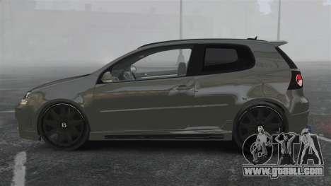 Volkswagen Golf GTi DT-Designs for GTA 4 left view
