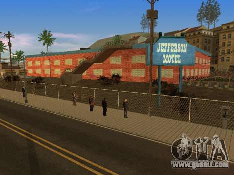New textures at Jefferson for GTA San Andreas ninth screenshot