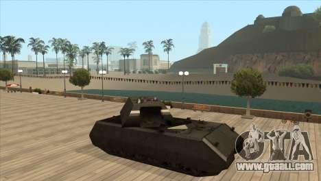 Panzerkampfwagen VIII Maus for GTA San Andreas fifth screenshot