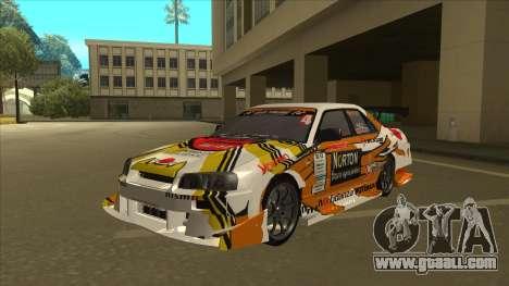 Nissan Skyline ER34 Uras GT Blitz 2010 for GTA San Andreas