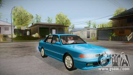Mitsubishi Galant VR-4 (E39A) 1987 IVF APT for GTA San Andreas back view