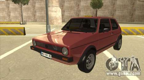 Volkswagen Golf 1 TAS for GTA San Andreas