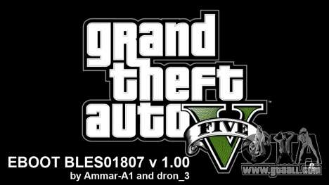 GTA 5 Hacks For 1.00 By Ammar-A1 V4 BLES for GTA 5