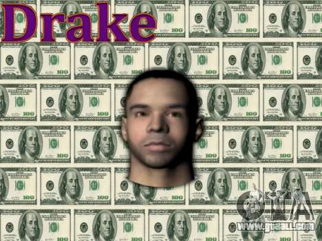 Drake for GTA San Andreas third screenshot