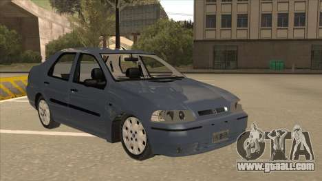 Fiat Siena Ex for GTA San Andreas left view