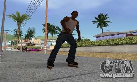 Roller-skates for GTA San Andreas